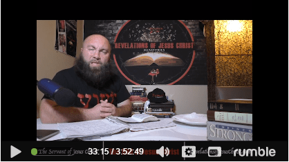 Wally Carlson Revelations Of Jesus Christ Video Review