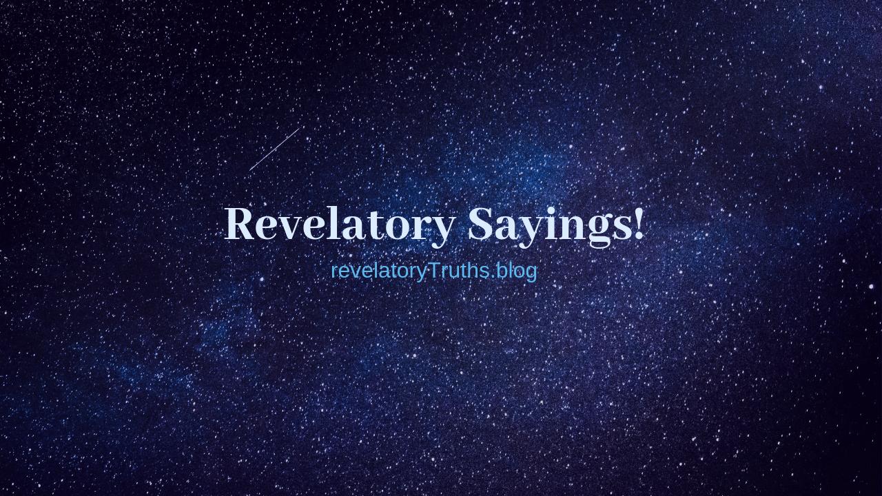 RevelatorySayings