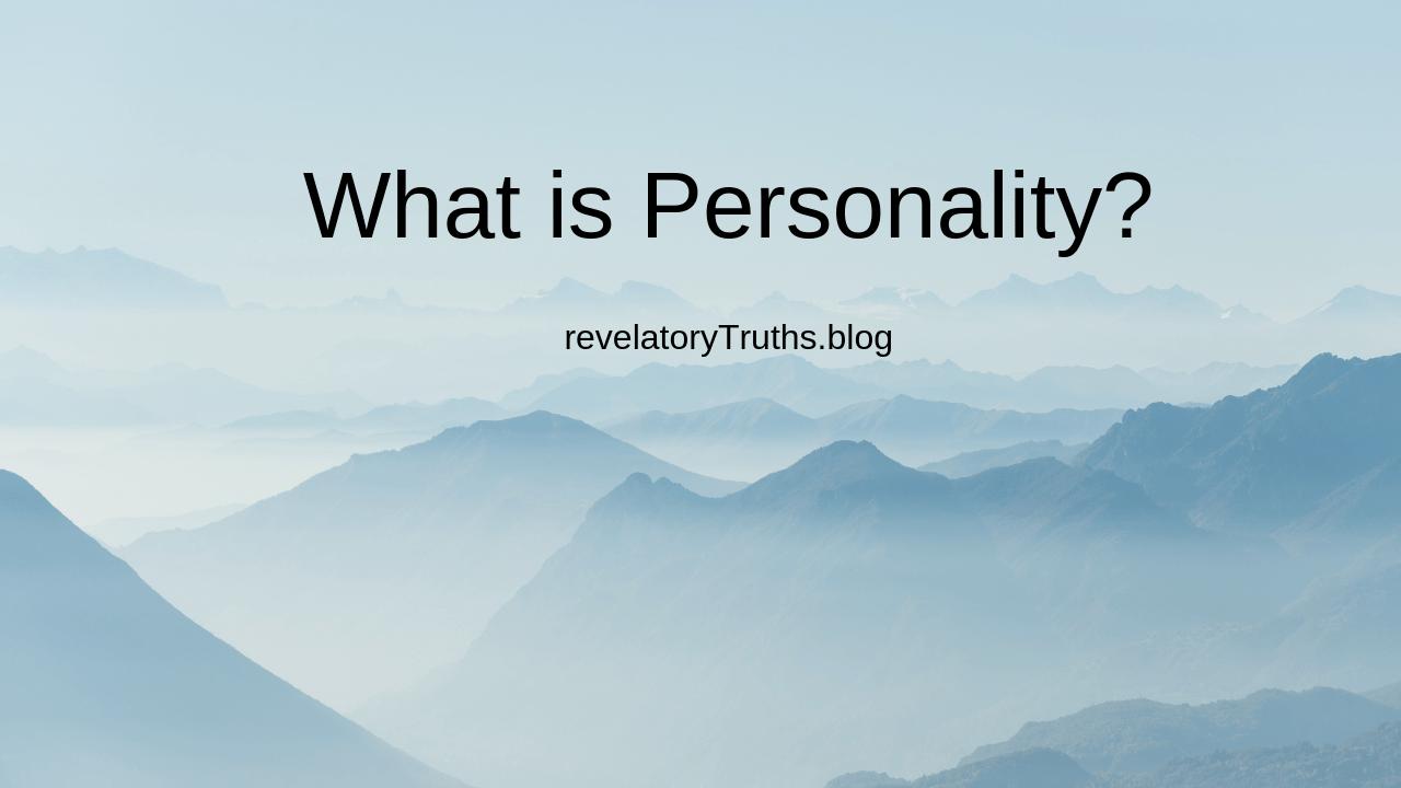 WhatisPersonality