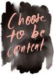 'Contentment' Quotes