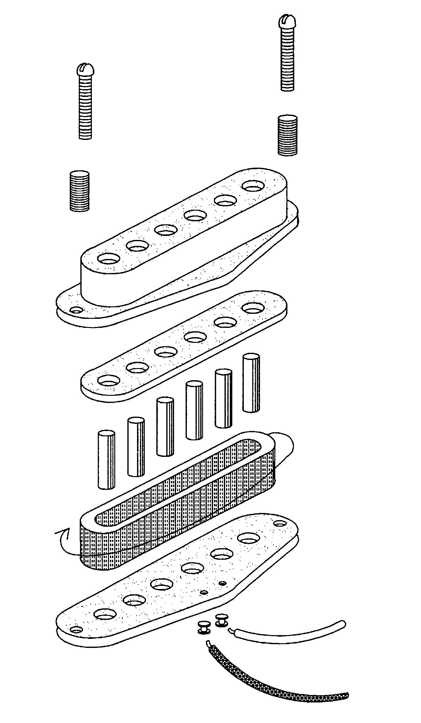 P Bas Pickup Wiring