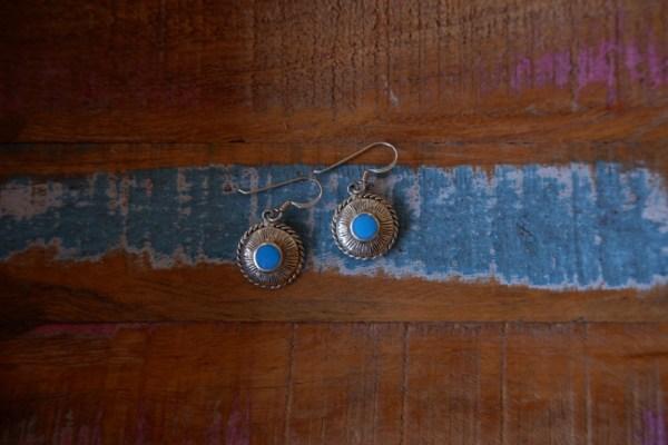 Oorbellen met turquoise - Revelery