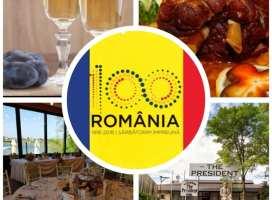 Sarbatoreste 100 de ani de Romania la The President!