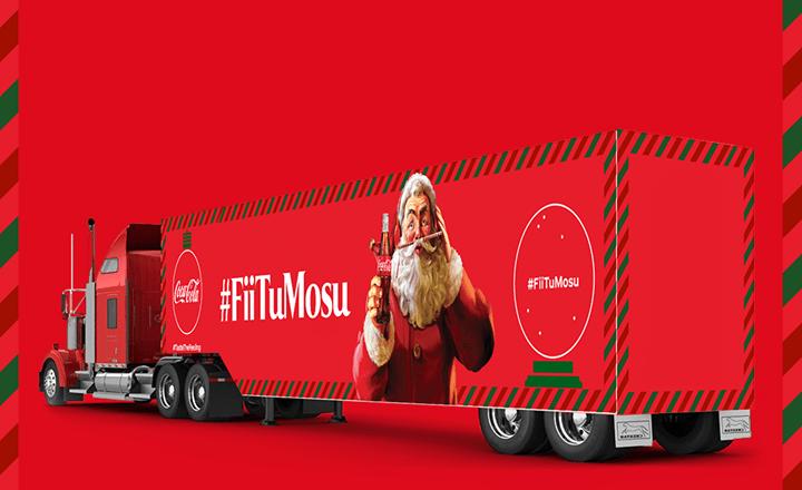 Caravana Coca-Cola se intoarce in Bucuresti