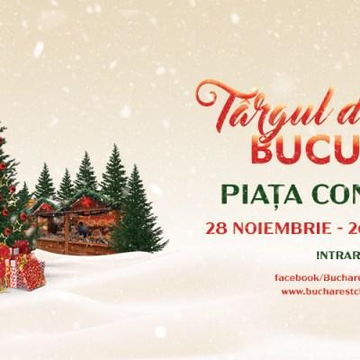 Targul de Craciun Bucuresti 2019 se deschide pe 28 noiembrie