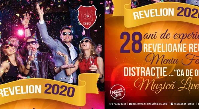 28 ani de experienta, 28 revelioane reusite, la restaurant Dines!