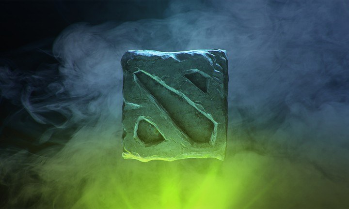 Green Dota 2 Logo Background Wallpaper By Chococruise