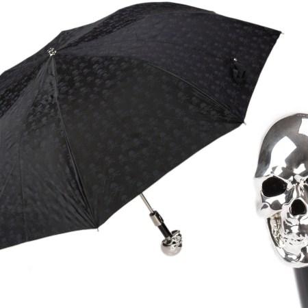parapluie-tête-de-mort-pliable