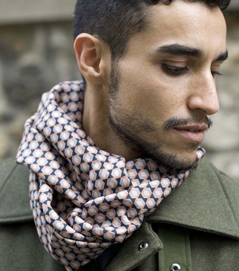 foulard-motif geometrique-meilleur ami