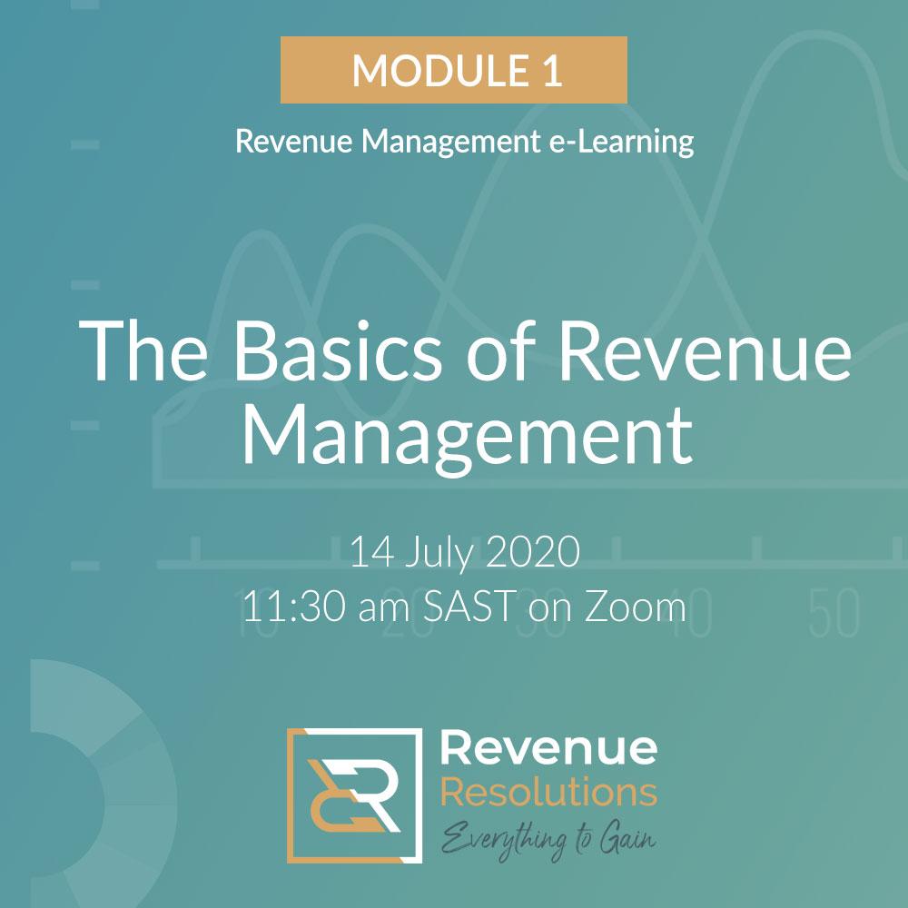 Basics of Revenue Management
