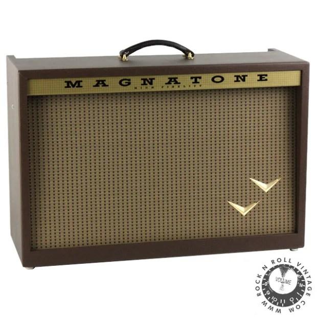 Magnatone Stereo Twilighter 2x12 Combo Amp Image