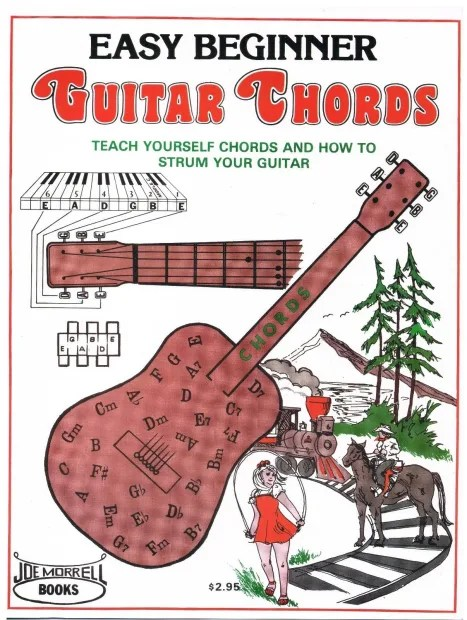 Easy Beginner Guitar Chords Instruction Book: Learn to ...