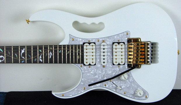 Ibanez Jem Jem7vwh Left Handed Steve Vai Made In Japan