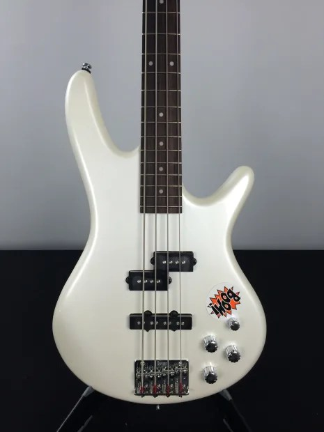 Ibanez Gsr200 Gio Sound Gear Electric Bass Pearl White