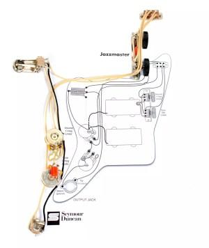 Fender Vintage Traditional Jazzmaster Guitar PreWired Wiring | Reverb