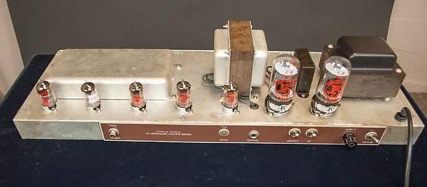 Fender Vibrasonic Sg13 Brown Rough Tolex