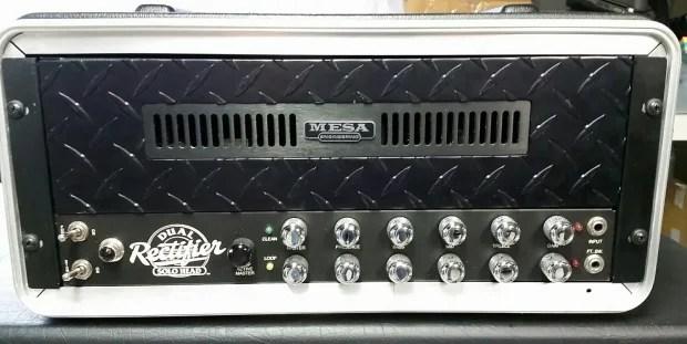 Rare Mesa Boogie Dual Rectifier Rackmount Black Face W