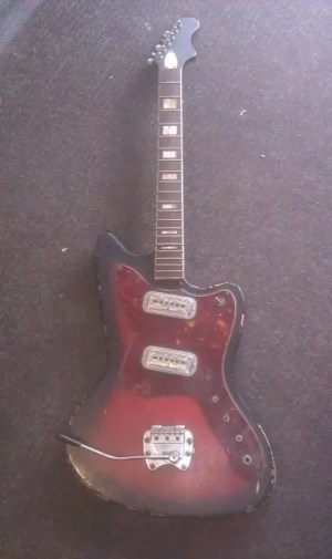 Harmony 203 1960's Electric Guitar For Parts Or Project