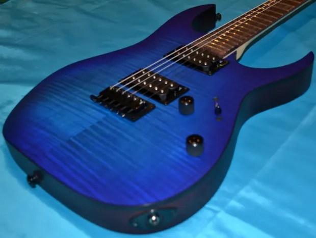 Ibanez Rg Fm Flatt Sapphire Blue