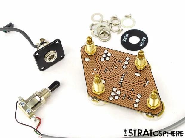 USA Gibson Les Paul Studio T Pots Wiring & 3 Way Toggle