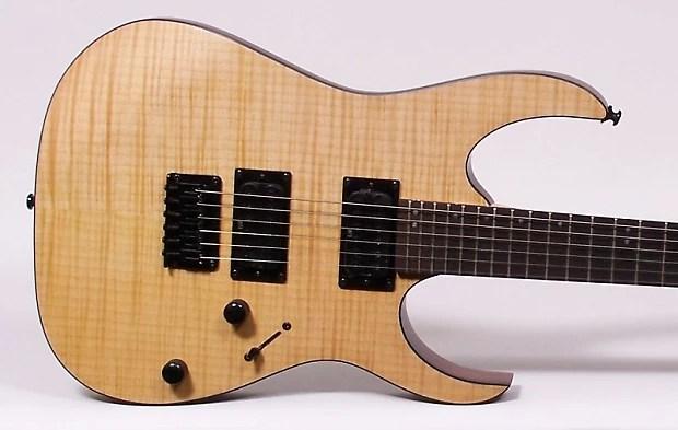 Ibanez Rg Fm Electric Guitar Flat Vintage Natural