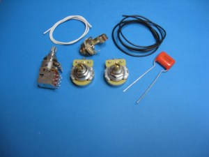 AM Guitar Works Jazz J Bass Wiring Kit with Series Parallel | Reverb