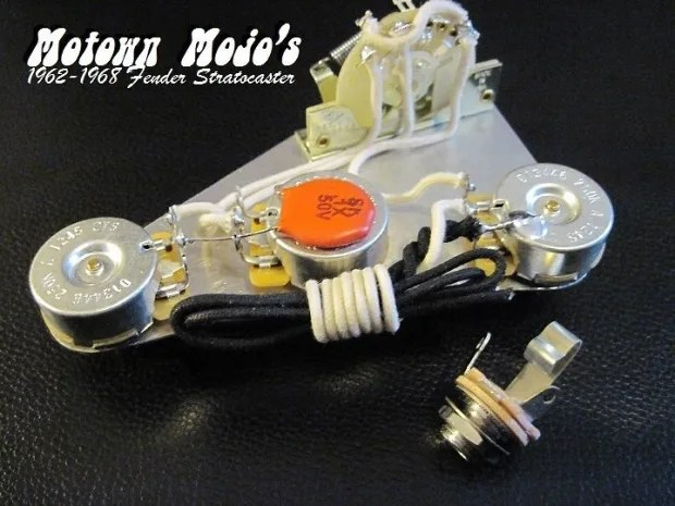 Motown Mojo 1962-1968 Reproduction Fender Strat Wiring