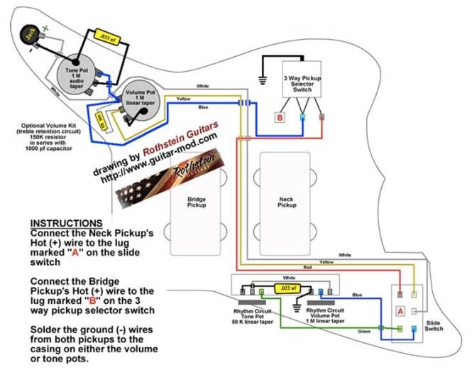 jazzmaster wiring diagram wiring diagram wiring diagram fender jazzmaster images