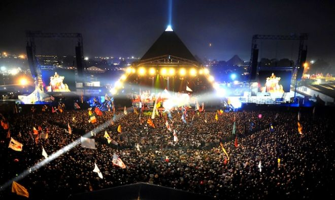 The Pyramid Stage at Glastonbury Festival 2014, Via Google Images
