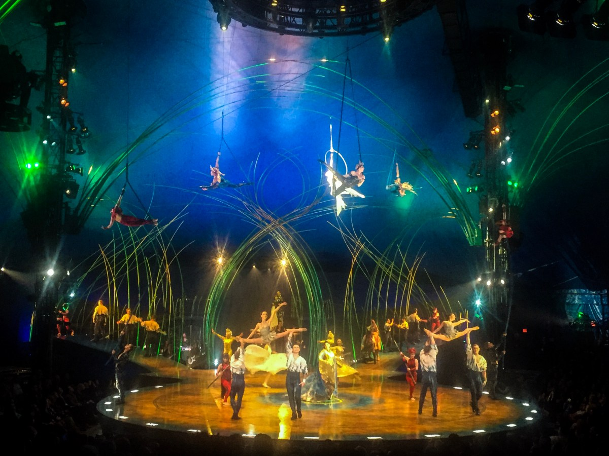 Amaluna Presented by Cirque du Soleil Brings The Big Chapiteau To DFW