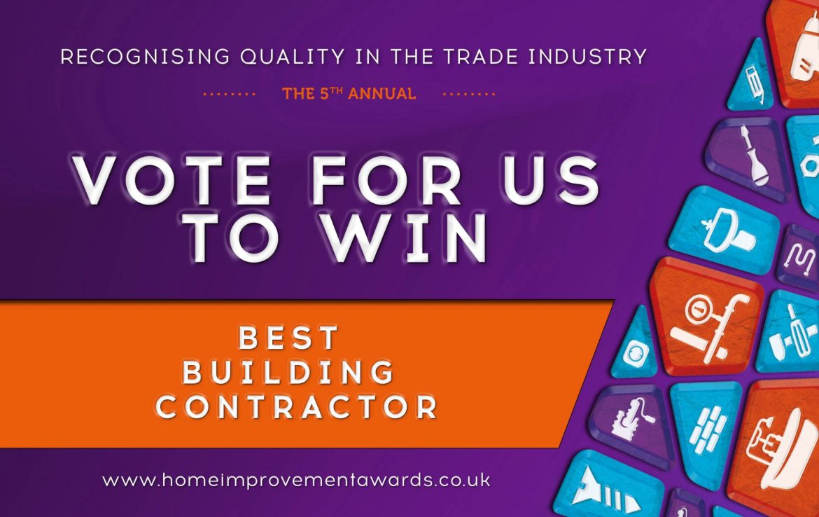 Scottish Home Improvement Awards Voting Banner
