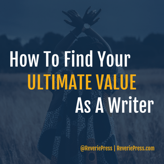 Connecting with your values and weaving them into your writing can result in a more meaningful experience for you and your reader. Article by @reveriepress.