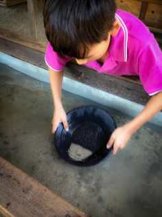 Dion gold panning