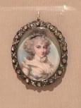 Richard Cosway, miniature portrait medallion