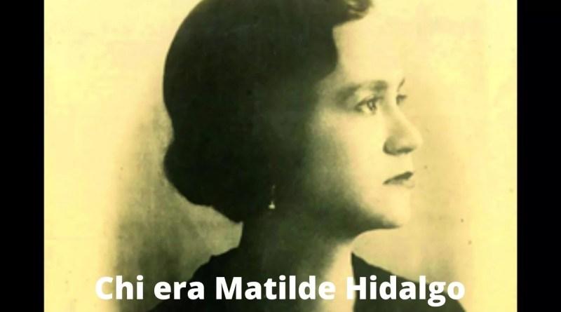 Chi era Matilde Hidalgo