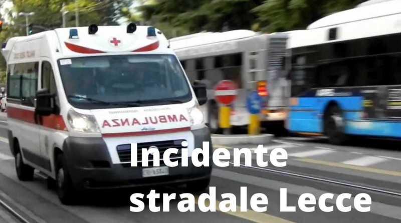 Incidente stradale Lecce