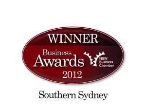 Winner NSW Business Chamber Awards