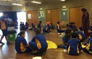 Students attending RG Workshop