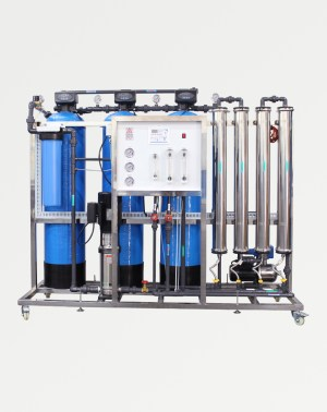 1000 litres per hour industrial Reverse osmosis system plant