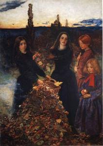 Autumn Leaves' by Sir John Everett Millais.