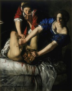 Judith and Holofernes (1612-21) by Artemisia Gentileschi.