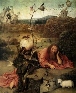 john the baptist Bosch