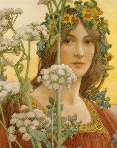 spring flower girl!!