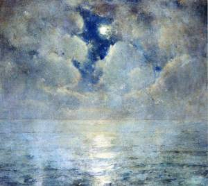 Ascension sky Sören Emil Carlsen (1853-1932)