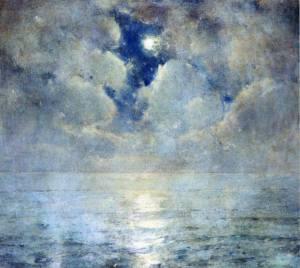 Ascension sky Sören Emil Carlsen (1853-1932)