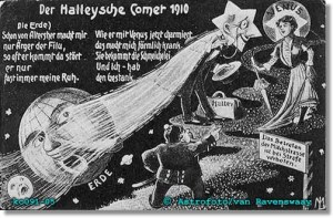 Komet Halley 1910: Das Betreten der Milchstraße ist bei Strafe verboten!