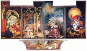 Matthis Grünewald Isenheim altar