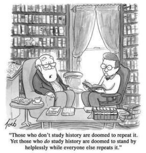 history cartoon
