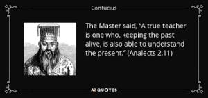 history confucus