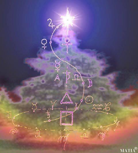 Image result for christmas tree symbols rudolf steiner